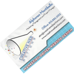 Creative web Action Website Design business card