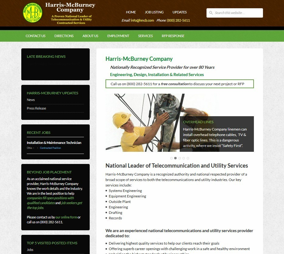 harris mcburney company website