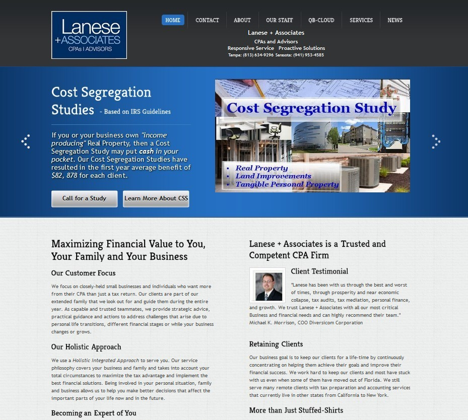 lanese and Asoociates website