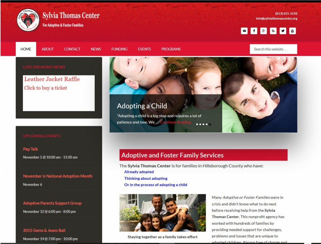 sylvia thomas center website