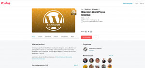 brandon wordpress meetup